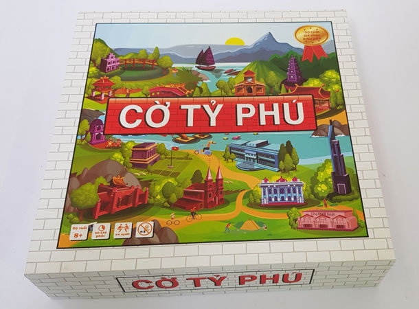 Hộp cờ tỷ phú Monopoly phiên bản VIệt Nam