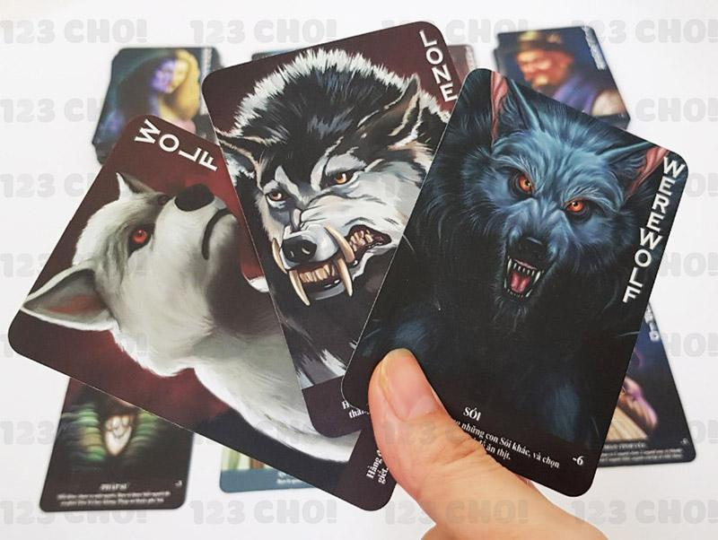 Thẻ bài trò chơi ma sói
