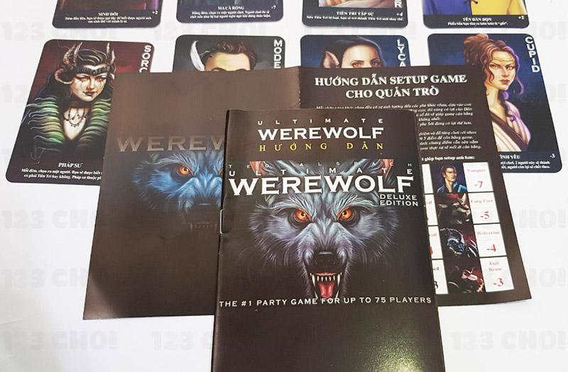 Sách hướng dẫn chơi Ma sói