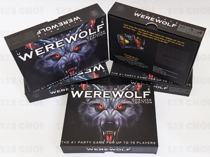 Hộp Trò Chơi Were Wolf Ultimate Deluxe - Ma Sói